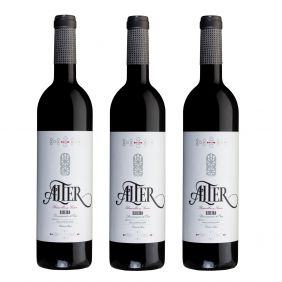 Alter Tinto, estuche 3 botellas