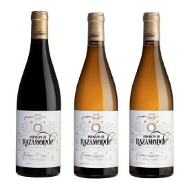 2 Bottles Priorato de Razamonde White + 1 Bottle Priorato de Razamonde Red
